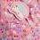 Thumbnail: Hedgehog Print Dress Pink