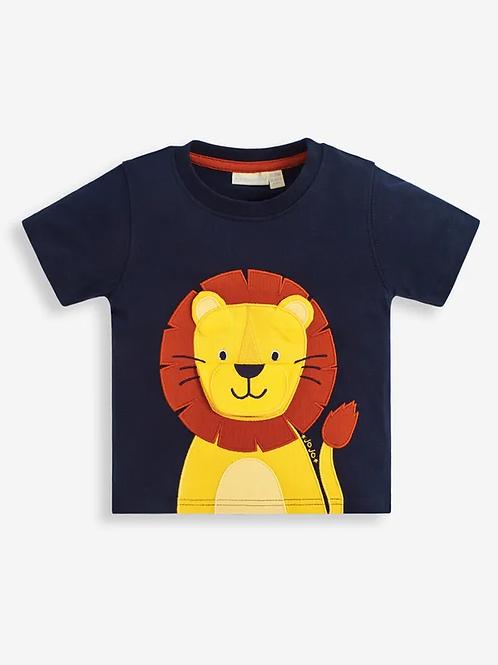 Lion T-Shirt Navy