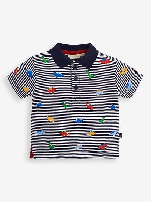 Dino Embroidered Polo Shirt