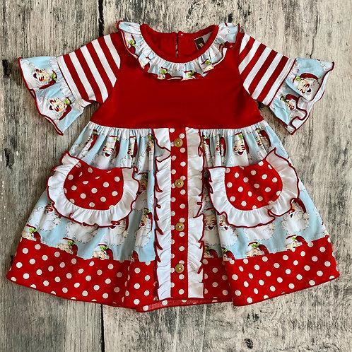 Naughty or Nice Dress w/pockets