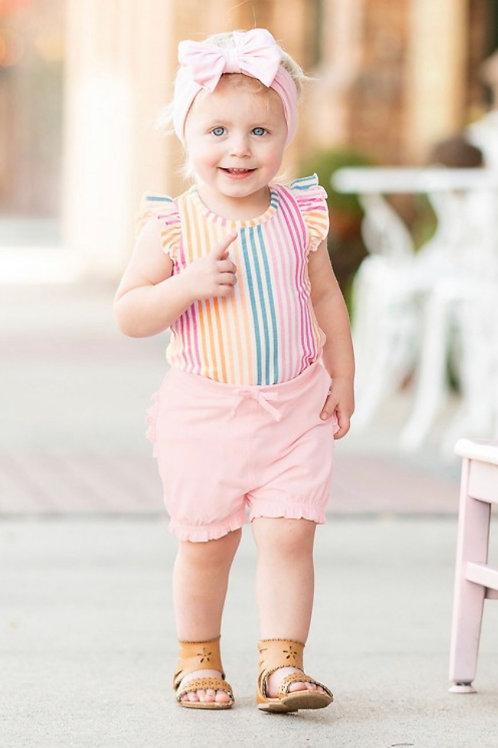 Pink Bubble Shorts