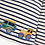 Thumbnail: Tractor Top Ecru Navy Stripe