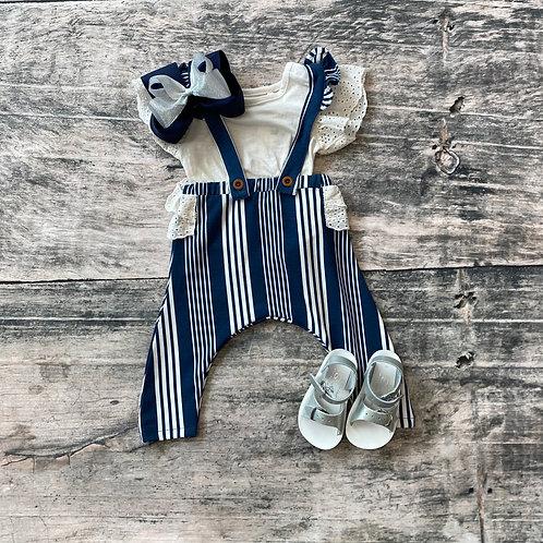 Striped Pant Set