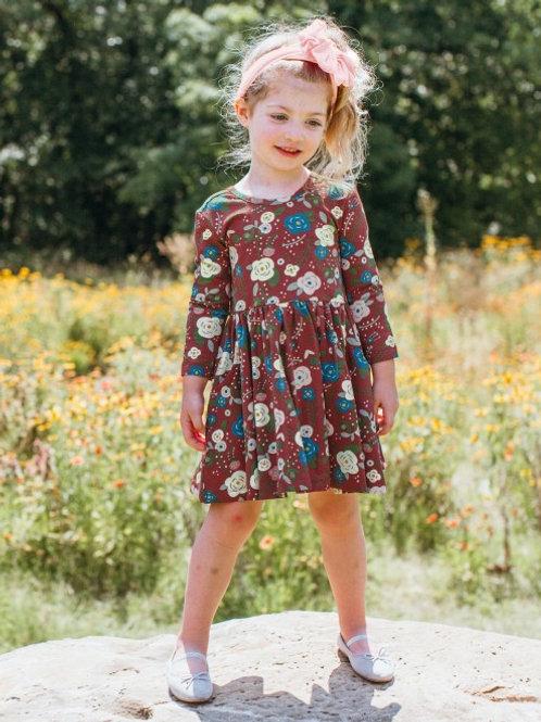 Budding Beauty Twirl Dress