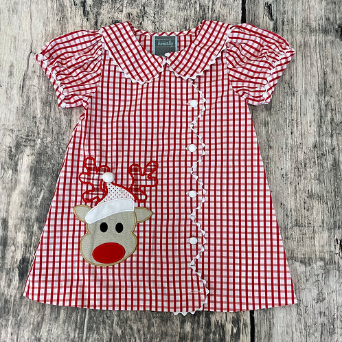 Rudolph Appliqué Dress