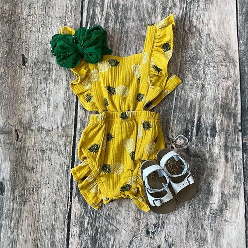 Sophia Bubble Mustard Pineapple