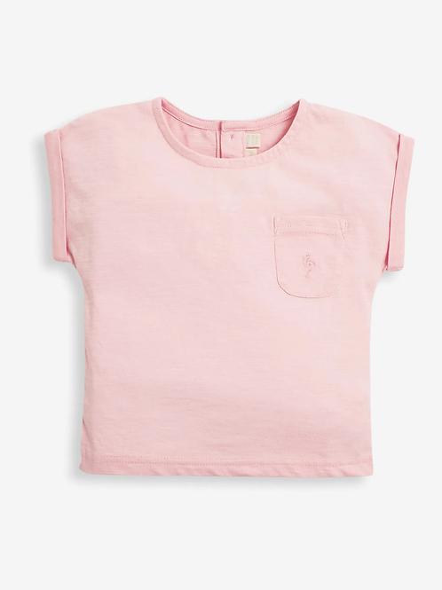 Slub Jersey T-Shirt Pink