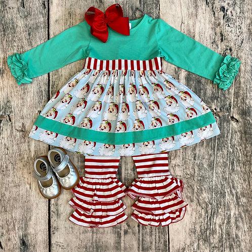 Santa Sash Dress Set