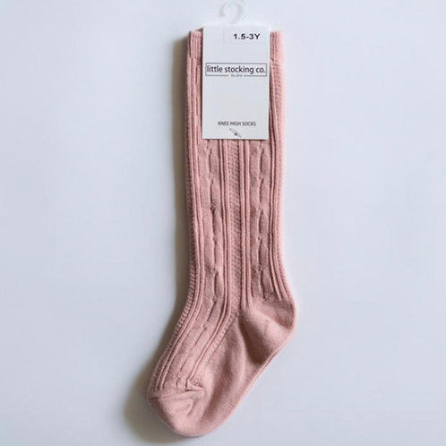 Knee High Socks Blush