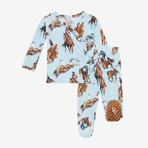 Brody Tie Front Kimono Set