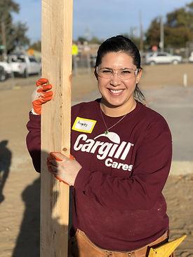 Cargill volunteer