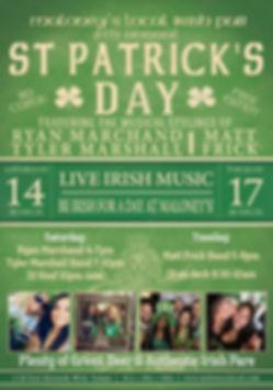 St Patricks Day 2020 Maloney's Local Iri