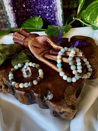 Amazonite Healing Crystal Bracelet