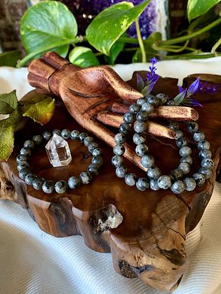 Larvikite Healing Crystal Bracelet