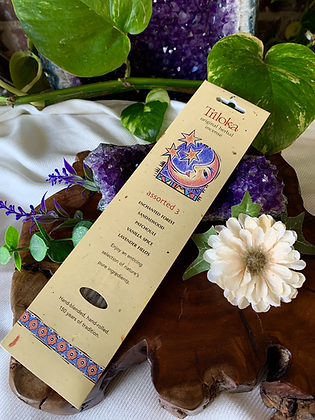 Triloka Assorted 3 Original Herbal Incense