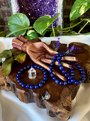 Lapis Lazuli Healing Crystal Bracelet (8mm)