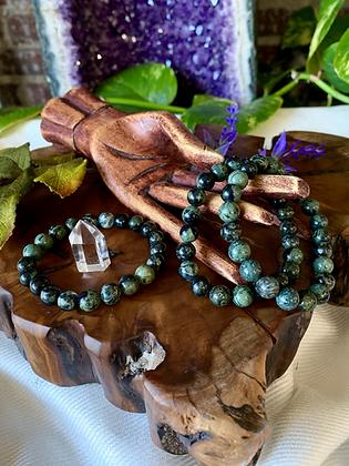 Kambaba Jasper Healing Crystal Bracelet