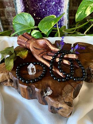 Black Obsidian Healing Crystal Bracelet