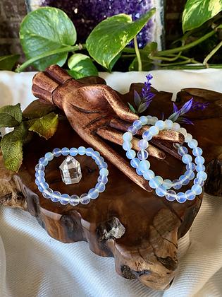 Opalite Healing Crystal Bracelet (8mm)