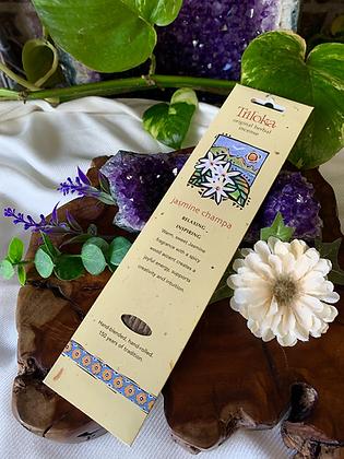 Triloka Jasmine Champa Original Herbal Incense