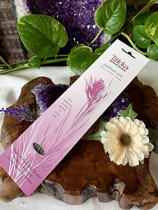 Triloka Patchouli Rose Premium Incense