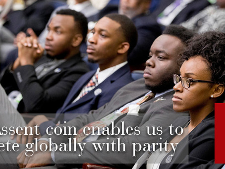 SableAssent coin is a vehicle that provides global freedom of money movement for African Diasporans