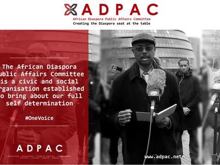 The African Diaspora Public Affairs Committee (ADPAC)