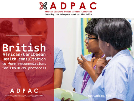 African/Caribbean Health professional COVID-19 protocol consultation