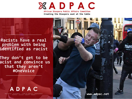 Racism will cease to have an affect on us when we address it with #OneVoice