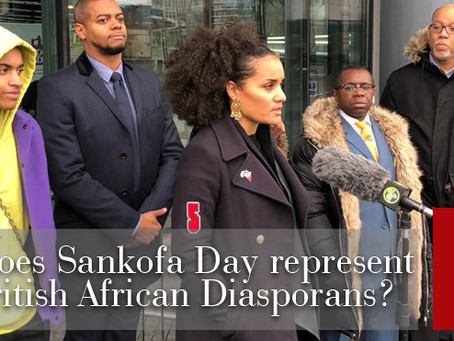 Why does Sankofa Day represent all British African diasporans?