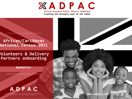 African/Caribbean National Census 2021 project delivery