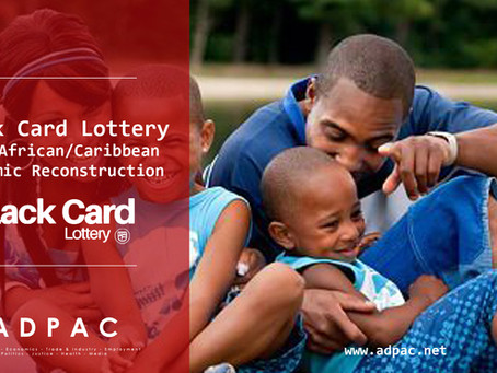 Black Card Lottery & economically underwriting our civic institutions