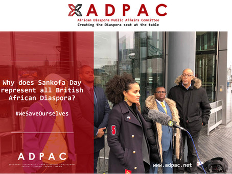 Why does Sankofa Day represent all British African diasporans?