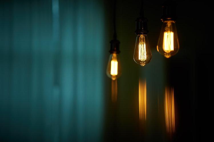 Edison Lamp Bulb triple retro