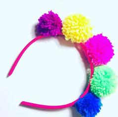 Pompones signature headband £15