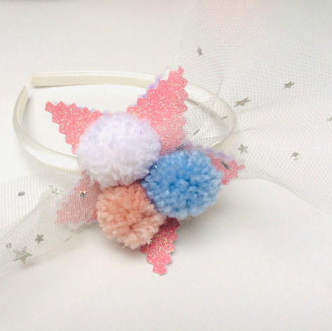 Pom-tulle star in pink £14
