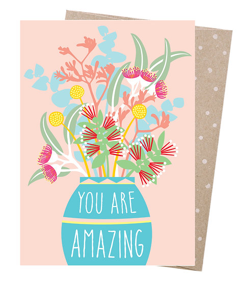 GREETING CARD - AMAZING BOUQUET