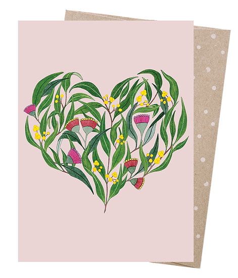 GREETING CARD - LET LOVE GROW