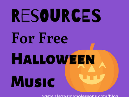 Resources For Free Halloween Music