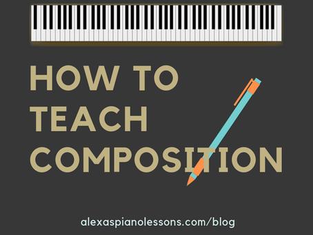 How to Teach Composition