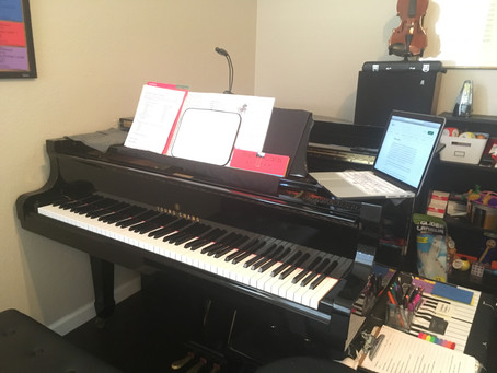 A Piano Lesson Without a Piano?!