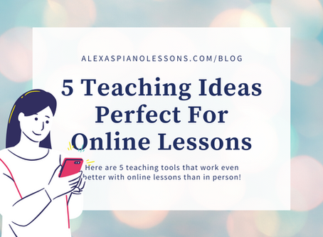 5 Teaching Ideas Perfect for Online Lessons