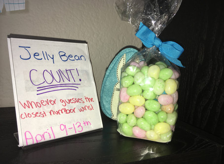 Jelly Bean Count - Easter Special