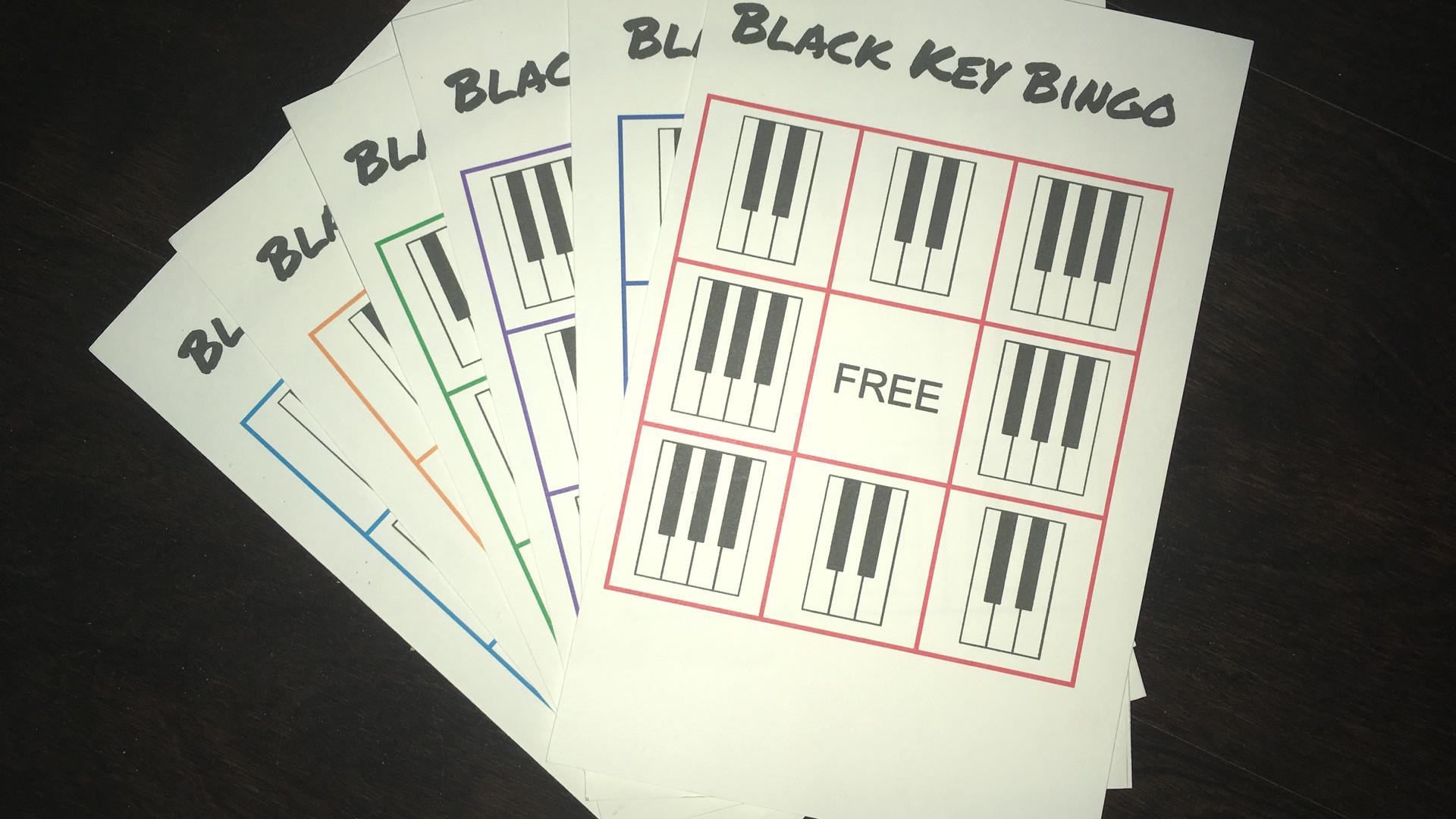Black Key Bingo
