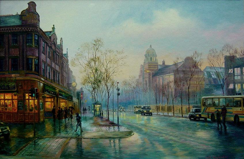 Abbey Road by Twilight