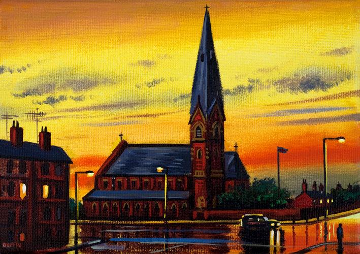 St. James's Church After Rain