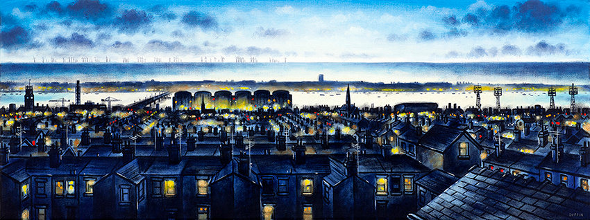 Barrow Skyline from Brighton Street
