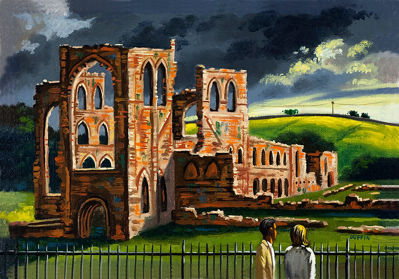 Furness Abbey Storm Approching