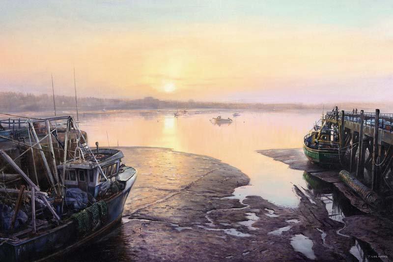 Walney Channel Sunset