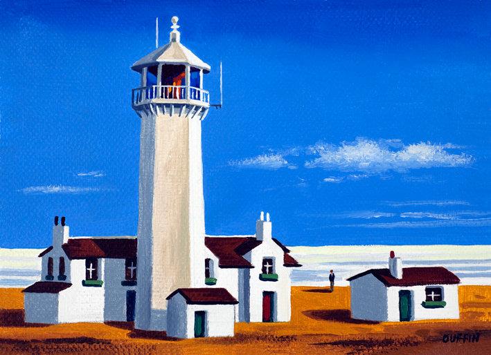 Walney Lighthouse Summer